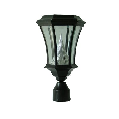 GamaSonic Victorian 6 Light Solar Post Lantern