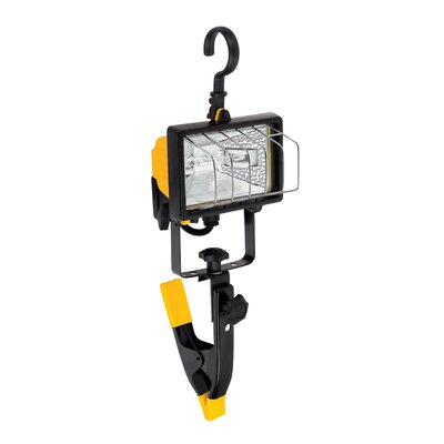 Globe Electric Company 1 Light Portable Halogen Work Light