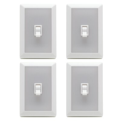 Globe Electric Company Wireless Closet Night Light Switch (Set of 4)