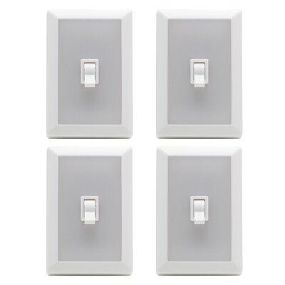Globe Electric Company Wireless Closet Night Light Switch (Set of 4)
