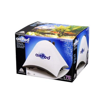 Air-Pod Aquarium up to 75 Gallons Air Pump