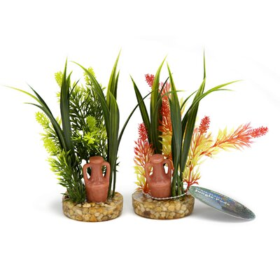 Penn Plax Amphora Plant Assorted Colors Jungle Pod