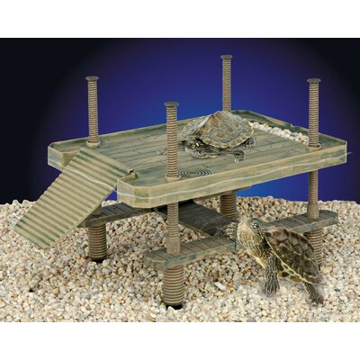 Penn Plax Turtle Pier Floating / Basking Platform