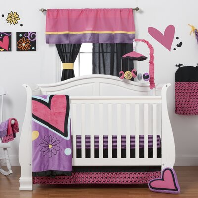 Sassy Shaylee 8 Piece Crib Bedding Collection