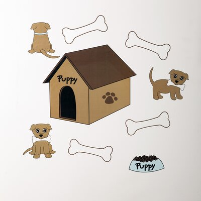Puppy Pal Boy Wall Decal