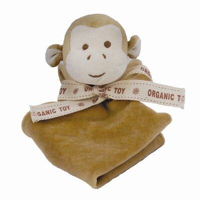 Miyim Nursery Monkey Lovie Blankie