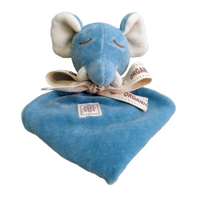 Miyim Nursery Elephant Lovie Blankie
