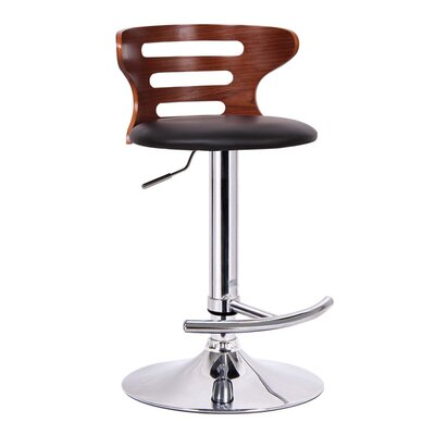 Wholesale Interiors Baxton Studio Buell Adjustable Swivel Bar Stool