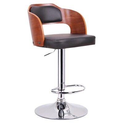 "Wholesale Interiors Baxton Studio Sitka 34"" Adjustable Swivel Bar Stool"
