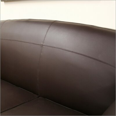 Wholesale Interiors Baxton Studio Sally Leather Sofa