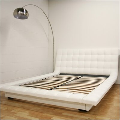 Wholesale Interiors Baxton Studio Celia Queen Platform Bed