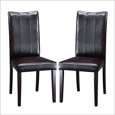 Baxton Studio Eugene Parsons Chair (Set of 2)