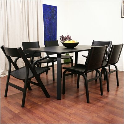 Wholesale Interiors Baxton Studio Nes 7 Piece Dining Set