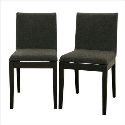 Wholesale Interiors Baxton Studio Square Parsons Chair (Set of 2)