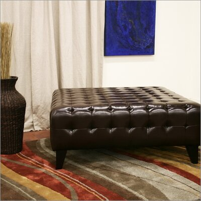 Wholesale Interiors Baxton Studio Pemberly Square Ottoman