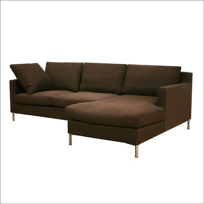 Wholesale Interiors Baxton Studio Palmyra Twill Sectional