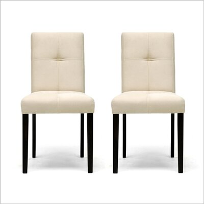 Wholesale Interiors Baxton Studio Elsa Parsons Chair (Set of 2)