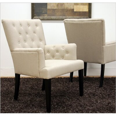 Wholesale Interiors Baxton Studio Solana Arm Chair (Set of 2)