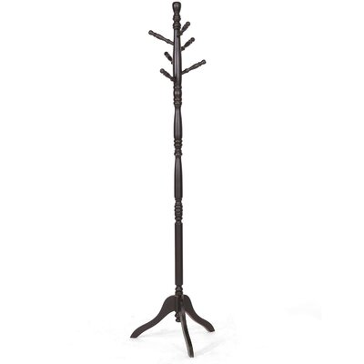 Wholesale Interiors Baxton Studio Oliver Turned Wood Coat Stand