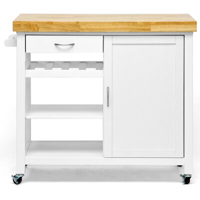 Wholesale Interiors Baxton Studio Denver Kitchen Cart