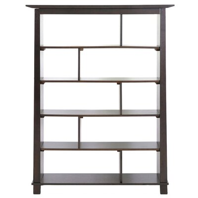 Wholesale Interiors Baxton Studio Havana Tall Modern Bookcase in Brown