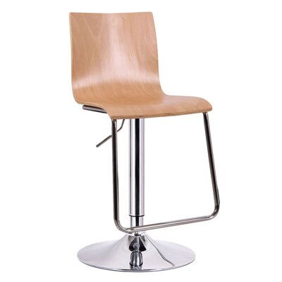 "Wholesale Interiors Baxton Studio Lynch 23.5"" Adjustable Swivel Bar Stool"