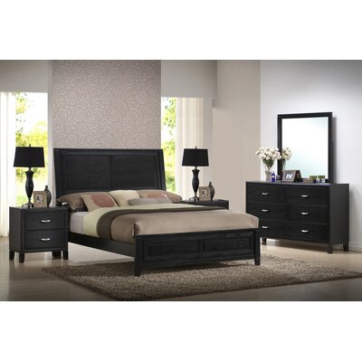 Baxton Studio Eaton King Panel Bedroom Collection