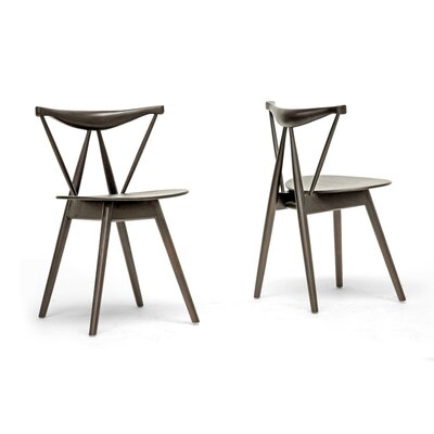 Wholesale Interiors Baxton Studio Mercer Side Chair (Set of 2)