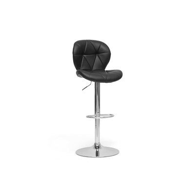 Baxton Studio Warsaw Modern Bar Stool (Set of 2)
