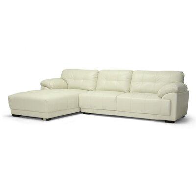 Wholesale Interiors Baxton Studio Hilaria Modern Sectional Sofa Amp Reviews Wayfair