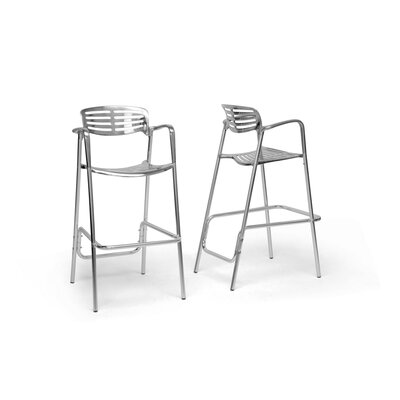Wholesale Interiors Baxton Studio Ethan Bar Stool (Set of 2)