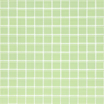 Cristezza Select Glass Tile in Powder Room Green