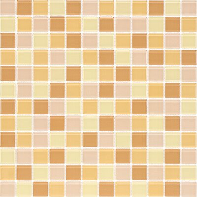 Cristezza Select Mosaic Glass Tile in Honeycomb