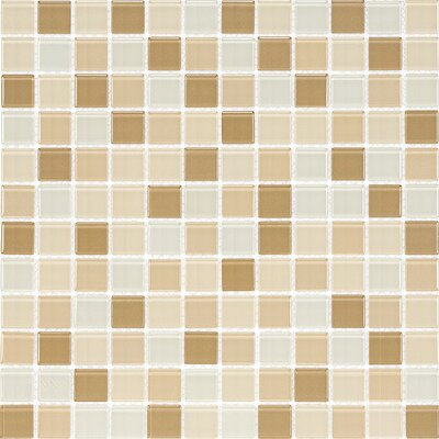 Cristezza Select Mosaic Glass Tile in Driftwood