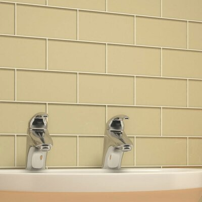 "Giorbello Subway 6"" x 3"" Tile in Beige"