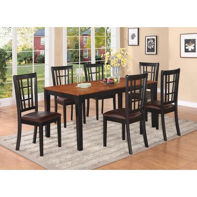 East West Furniture Nicoli Dining Table