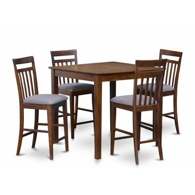 Counter Height Table And Chairs For Sale : East West Furniture Counter Height Pub Table Set