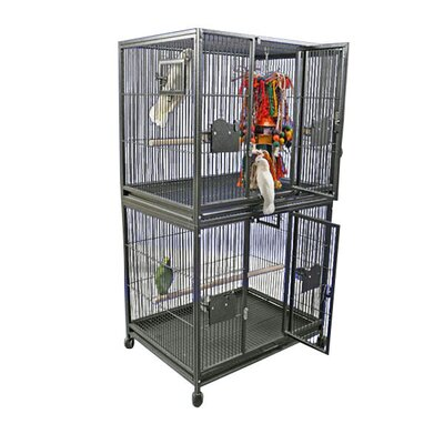 Large Double Bird Cage