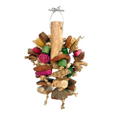 A&E Cage Co. Java Wood Chunky Monster Bird Toy