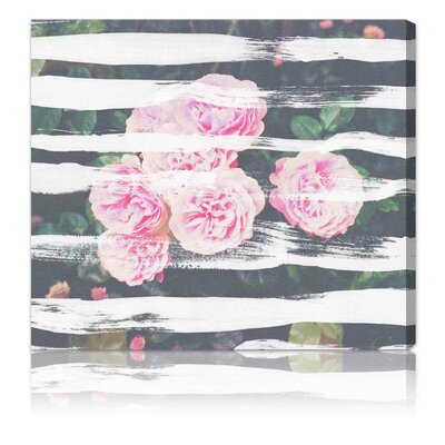 "Oliver Gal ""Blooming Strokes"" Canvas Art Print"