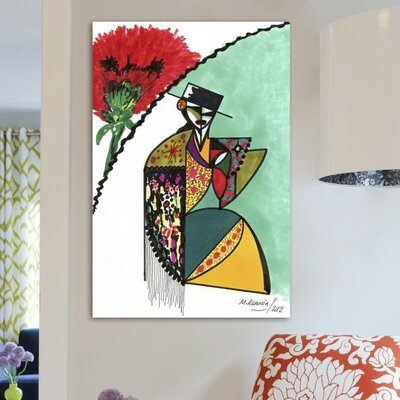 Oliver Gal Flamenca Canvas Art