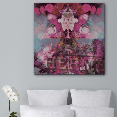 "Oliver Gal ""Sublime Illusion"" Canvas Art Print"