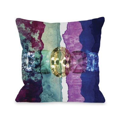 Oliver Gal by One Bella Casa Texture Study I Pillow