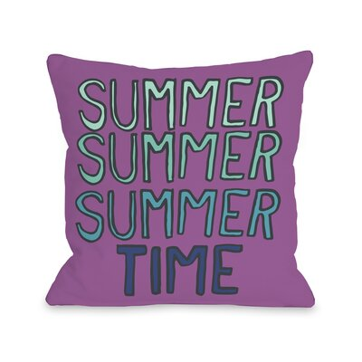 Summer Summer Time Pillow