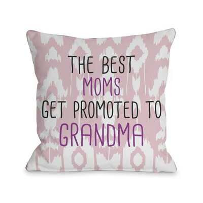 The Best Moms Grandma Pillow