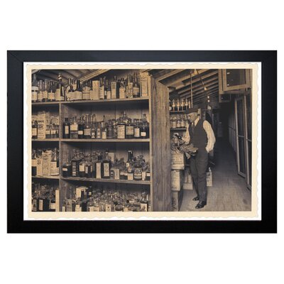 ''All those Old Bottles'' Framed Photographic Print