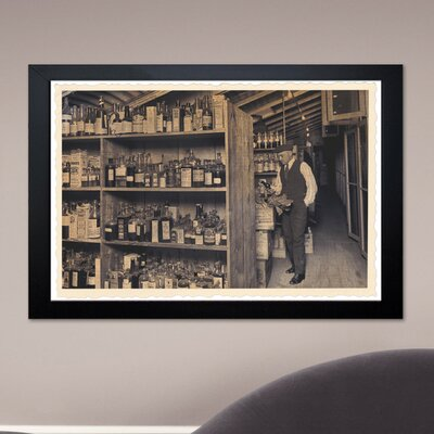 Oliver Gal ''All those Old Bottles'' Framed Photographic Print