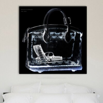 Oliver Gal Couture X-Ray Graphic Art on Canvas