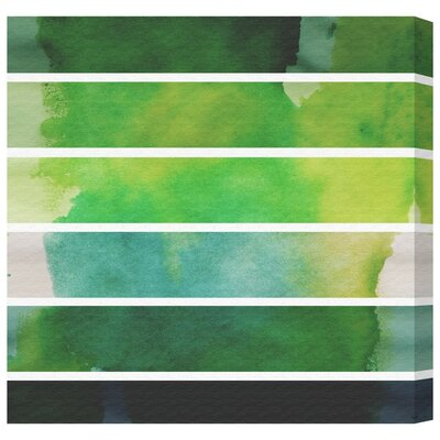 Watercolor Sprouts Painting Print on Canvas