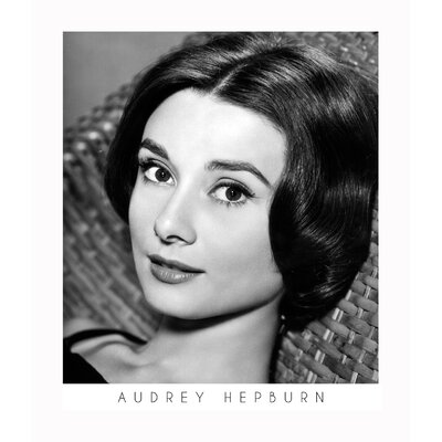 ''Audrey Hepburn'' Framed Photographic Print